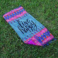 Пляжний килимок LIVE 100х150 см