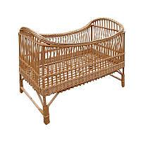 Кроватка детская из лозы