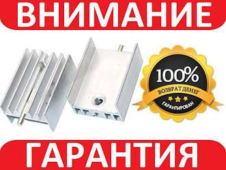 Алюминиевый мини радиатор 20х10х15мм с иглой ТО220