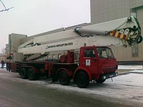 Автовышка 50м аренда, услуги, Киев