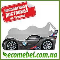 Кровать машина (ліжко дитяче) БМВ Драйв металлик
