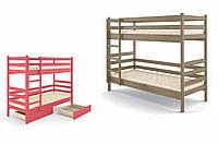 Двухъярусная кровать с шухлядами Соня