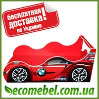 Кровать машина (ліжко дитяче) БМВ Драйв красная