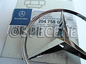 Mercedes C W204 W 204 эмблема значок на багажник новый оригинал