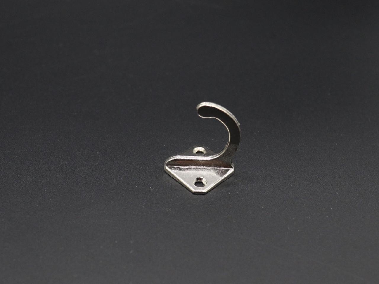 Крючок для ключей. Цвет серебро. Качество. 22х35мм