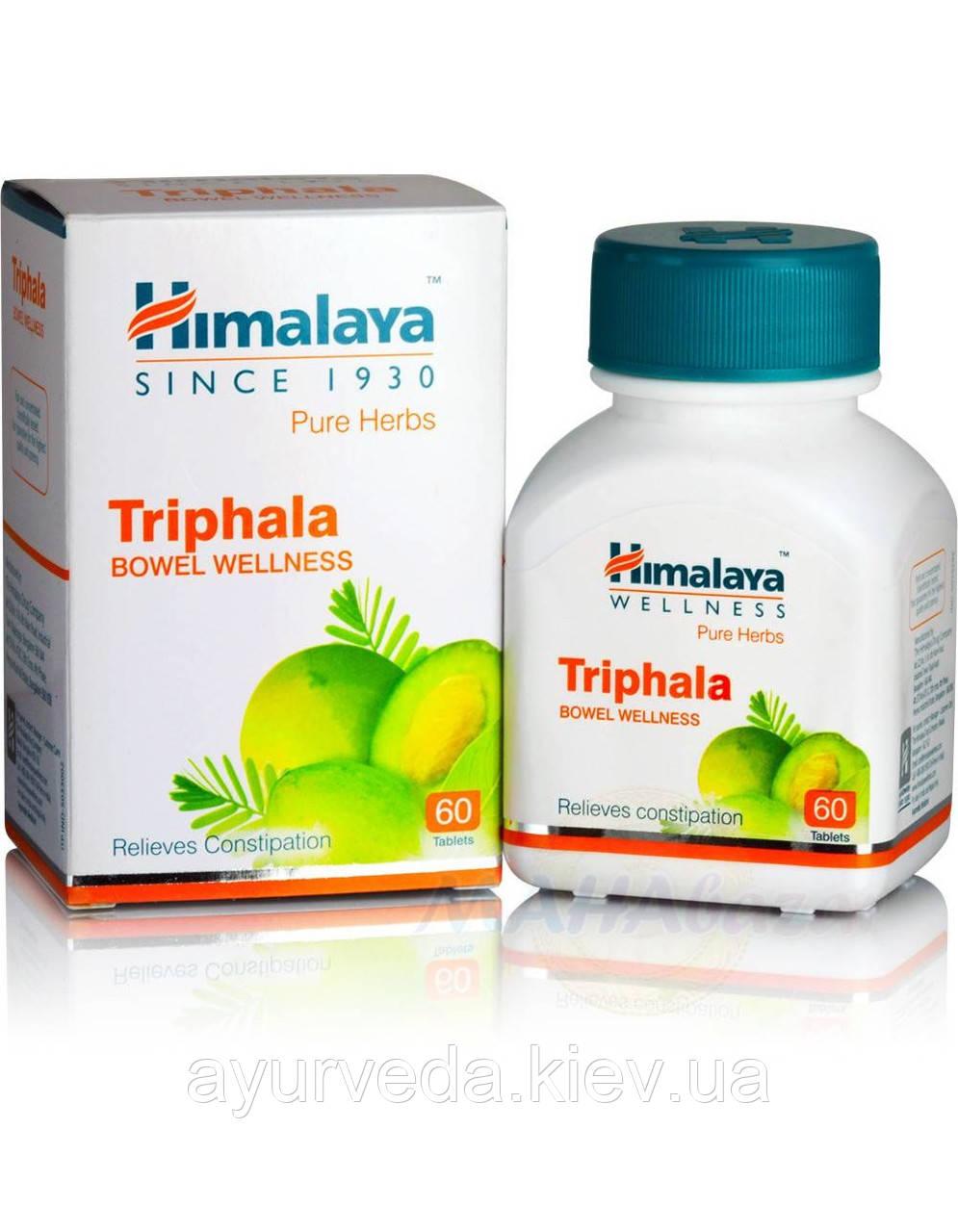 Трифала для очищения от шлаков и токсинов, нарушения пищеварения, диспепсия, гастропарез, запор, Triphala