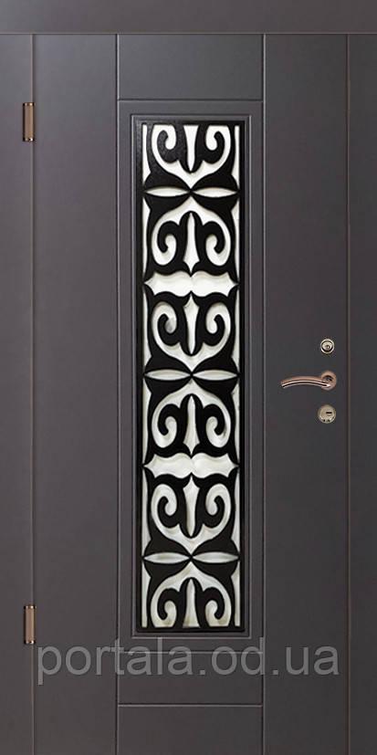 """Входная дверь для улицы """"Портала"""" (Премиу RAL) ― модель P-1"""