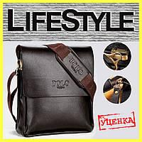 Стильная мужская сумка Polo Videng. Уценка!