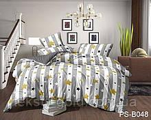 1,5-спальный комплект постельного белья ТМ TAG Полисатин PS-B048