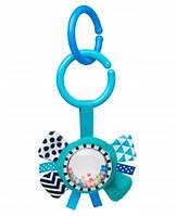 Игрушка плюшевая Zig Zag Canpol Babies с погремушкой (лента) для коляски, с рождения