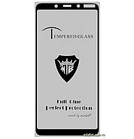 Защитное стекло 5D Full Glue для Nokia 3.1 Plus Black (Screen Protector 0,3 мм)