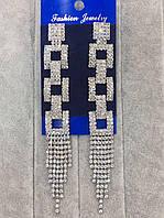 Эксклюзивные длинные серьги, модные серьги бижутерия, бижутерия женская