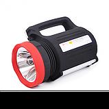 Фонарь светодиодный переносной прожектор Yajia YJ2886 5W 22LED power bank, фото 9