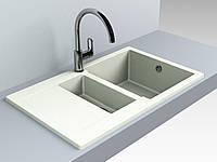 Кухонная мойка из искусственного камня 78*49*20 см Miraggio LaPAS жасмин