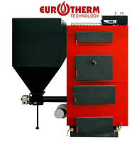 Котел Eurotherm WMSP100 твердотопливный пеллетный