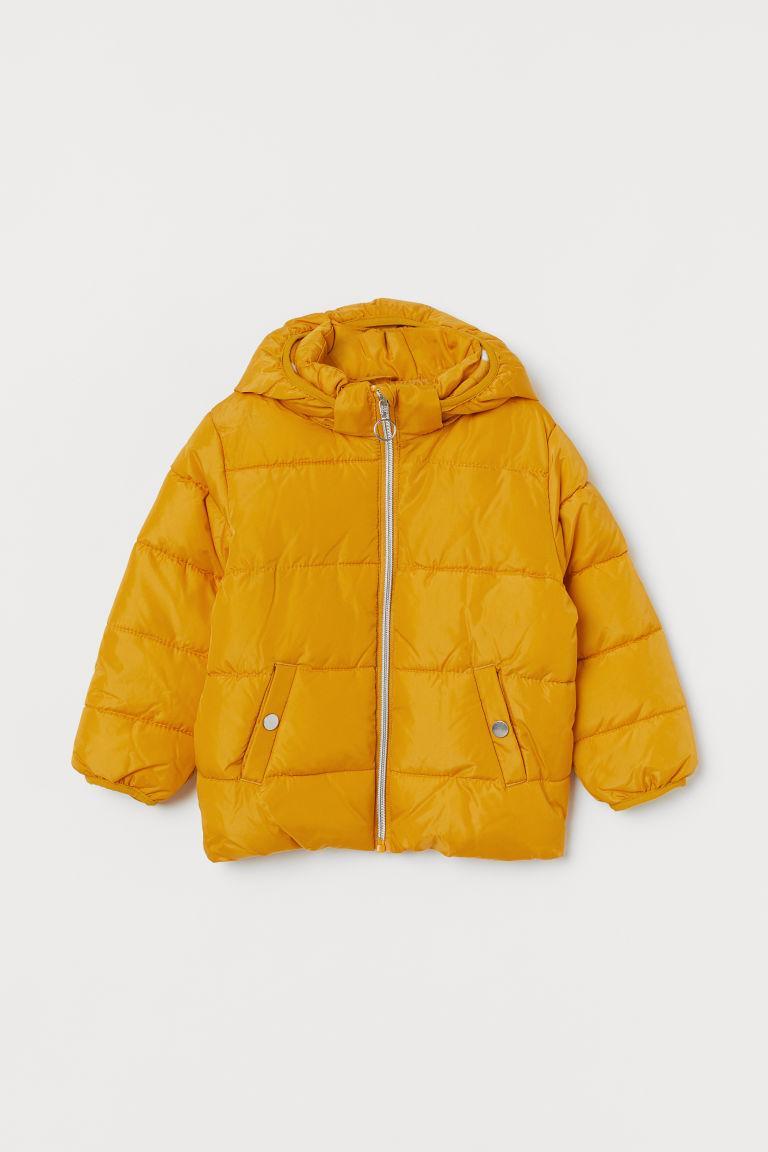 Куртка желтая H&M р.134см (8-9лет)