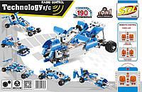 """Конструктор Gentleman """"Машинка-трансформер 10 в 1 на радиоуправлении"""" (аналог Lego), 190 деталей"""