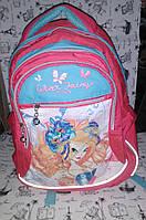 Рюкзак подростковый 552294 LITE Винкс ТМ 1 Вересня 36*28*12 см. Украина