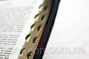Біблія українською мовою (чорна з червоною смужкою), фото 2