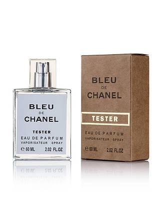 Tester мужская туалетная вода Chanel Bleu de Chanel 60 ml ОАЭ NEW, фото 2