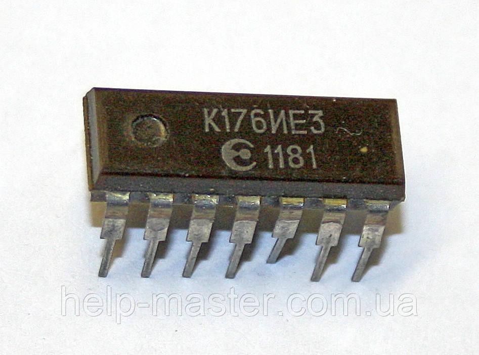 Микросхема К176ИЕ3 (DIP-14)