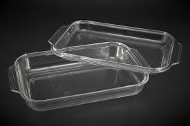 Противень А-плюс 4009 прямоугольний,стекло с крышкой 3 л