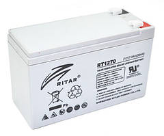 Акумулятор AGM RITAR RT1270 12V 7Ah