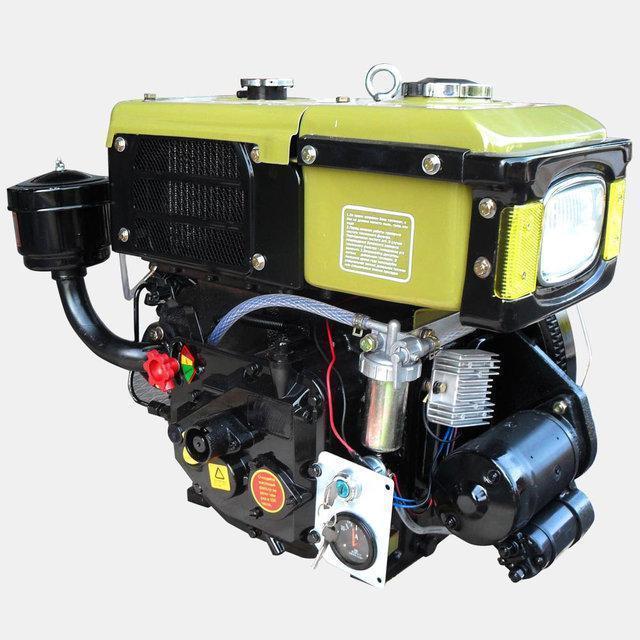 Двигатель для мотоблока Кентавр ДД180ВЭ 8 л.с.