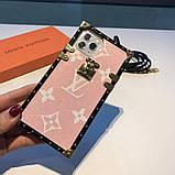 Защитный чехол Луи Витон  для Apple Iphone 7+, 8+, ix/xr/xs, 11/11 pro, 11 pro max, 12, 12 pro max, фото 5