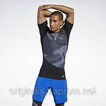 Компрессионная футболка Reebok Compression Tee Black FJ4592 2020