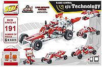 """Конструктор Technic """"Машинка-трансформер 10 в 1 на радиоуправлении"""" (аналог Lego), 191 деталь, фото 1"""
