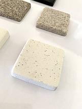 Кухонная мойка угловая искусственный камень 1100*575*215 мм Miraggio Europe жасмин, фото 2