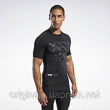 Компрессионная футболка Reebok Compression Tee Black FJ4594 2020