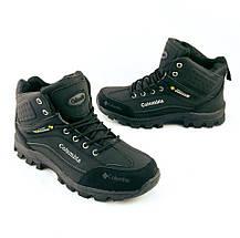 Ботинки Columbia ЗИМА-МЕХ Мужские Коламбиа Чёрные (размеры: 41,42,44) Видео Обзор, фото 3