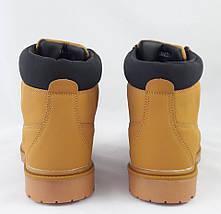 Ботинки Timberland ЗИМА-МЕХ Мужские Тимберленды (размеры: 45) Видео Обзор, фото 2