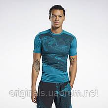 Компрессионная футболка Reebok TS SS Comp Tee FK6271 2020