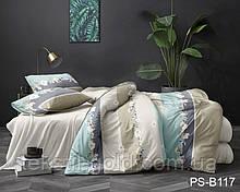 1,5-спальный комплект постельного белья 3D ТМ TAG Полисатин PS-B117