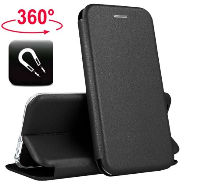 Чехол книжка с магнитом для Samsung Galaxy A6 Plus 2018 (A605)