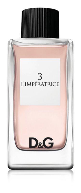 Dolce&Gabbana Anthology L`Imperatrice 3 Духи лучший подарок