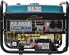 Бензиновый генератор Könner & Söhnen KS 3000E, фото 3