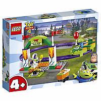 Конструктор LEGO Toy Story 4 Аттракцион Паровозик 98 деталей (10771)