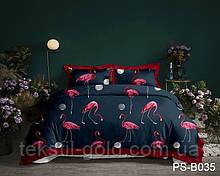 1,5-спальный комплект постельного белья 3D ТМ TAG Полисатин PS-B035