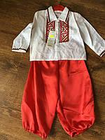 Детский крестильный костюм-вышиванка для мальчика