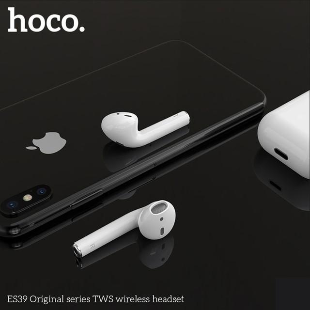 bluetooth Hoco ES39 Оригинал Вкладыши Bluetooth Прямой Белый Наушники