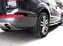 Брызговики MGC AUDI Q7 Европа 2005-2015 г.в. комплект 4 шт 4L0075111A, 4L0075101A, 4L0075111, 4L0075101, фото 5