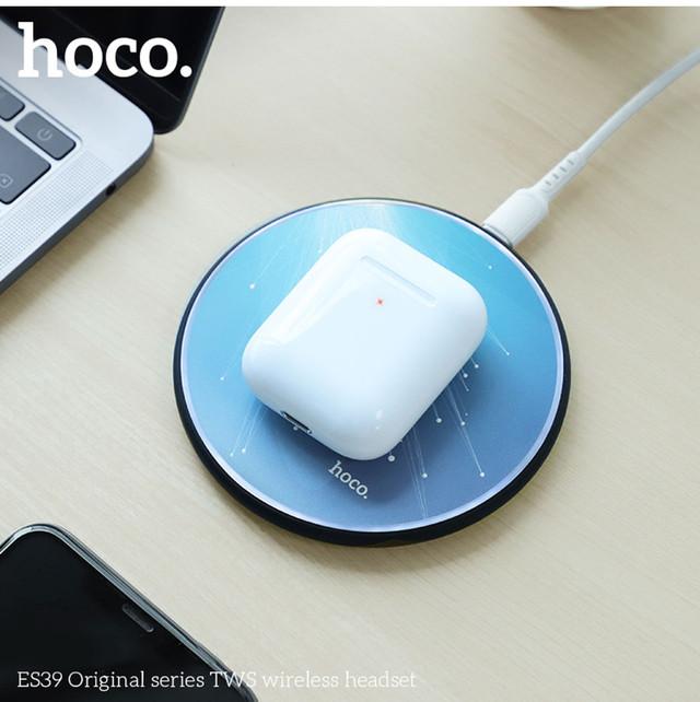 bluetooth Hoco ES39 Оригинал Вкладыши Bluetooth Прямой Белый Наушники Пластик
