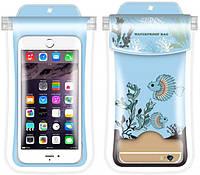 Водонепроникний чохол для смартфона Fingerling синій