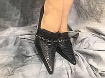 Женские туфли Camidy 799-677 черные 35-40