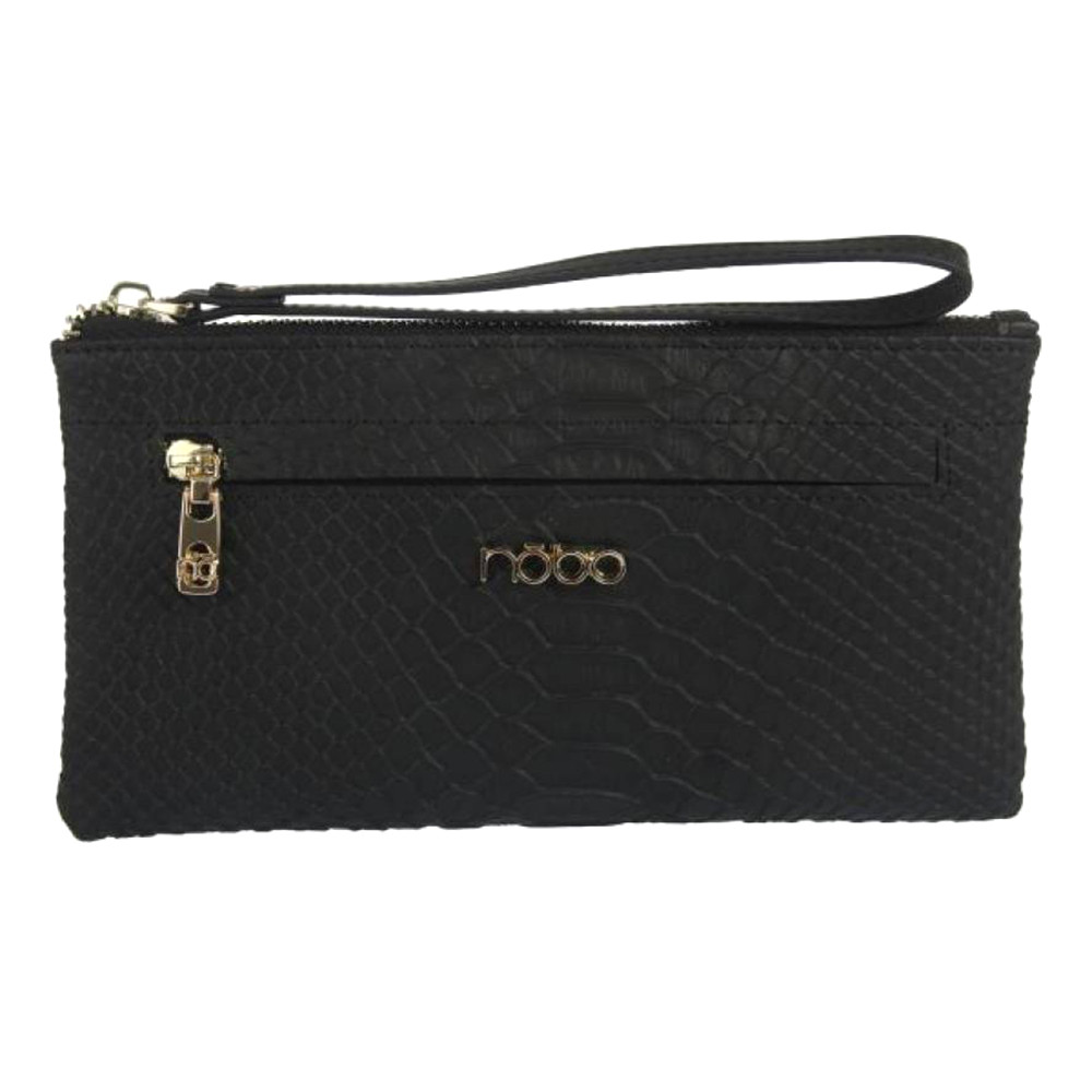 Кошелек женский кожаный-клатч Nobo LI0110-C020 черный