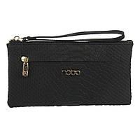 Кошелек женский кожаный-клатч Nobo LI0110-C020 черный, фото 1